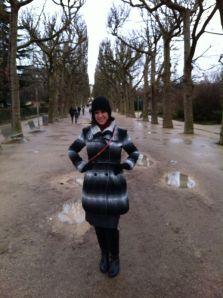 Dia 1: Paris  Chuva e Frio