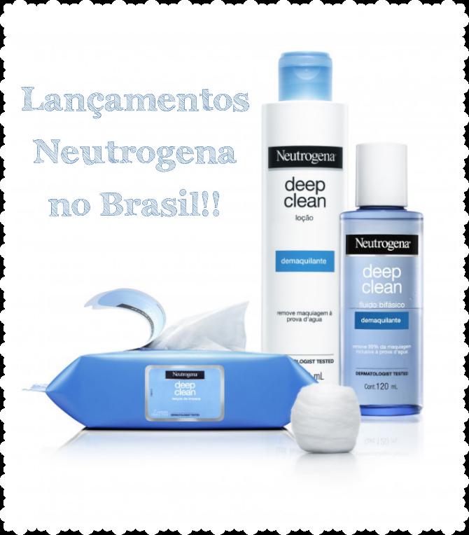 Novidades Neutrogena
