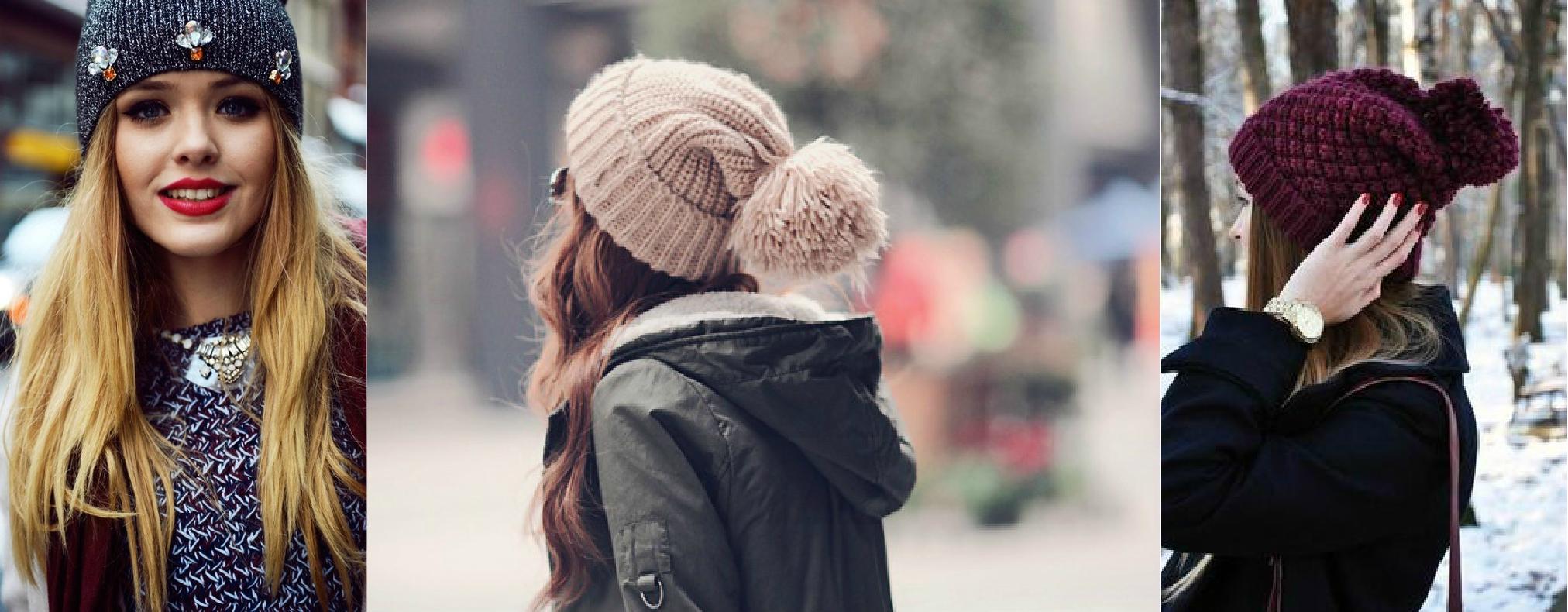 7714f92eaa09f Mas para ficar fashion e quentinha nesse inverno não dá pra usar aquelas  toucas que parecem ...