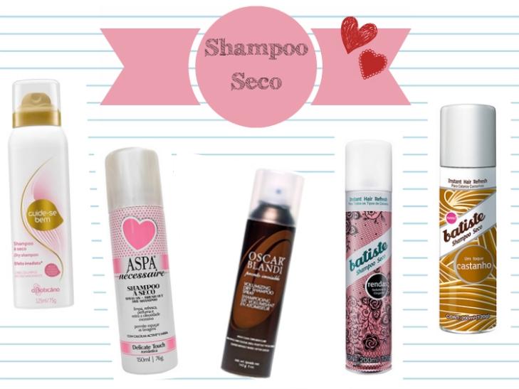 montagem shampoo seco